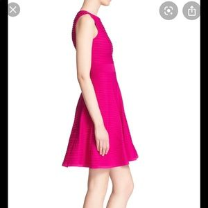 👗 Ted Baker Coral Ottoman Dress Fit/Flare